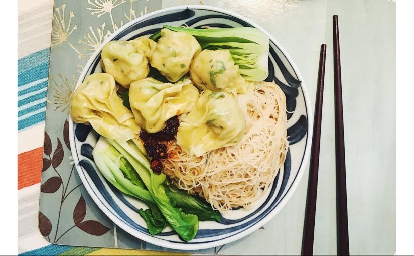 Ann's veggie wontons