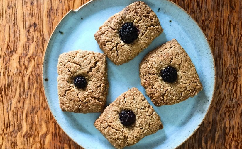 Oaty easy vegan biscuitflapjacks